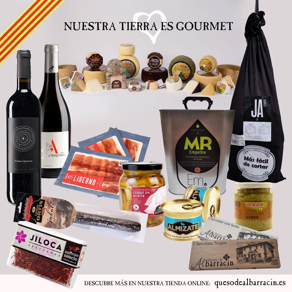 Comprar Productos gourmet de Aragón online